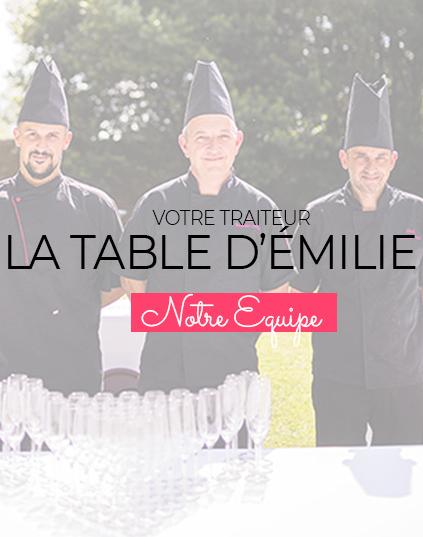L'équipe La Table d'Emilie