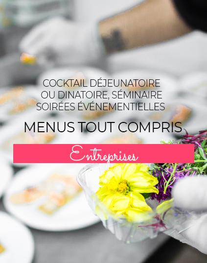 Service Entreprises La Table d'Emilie